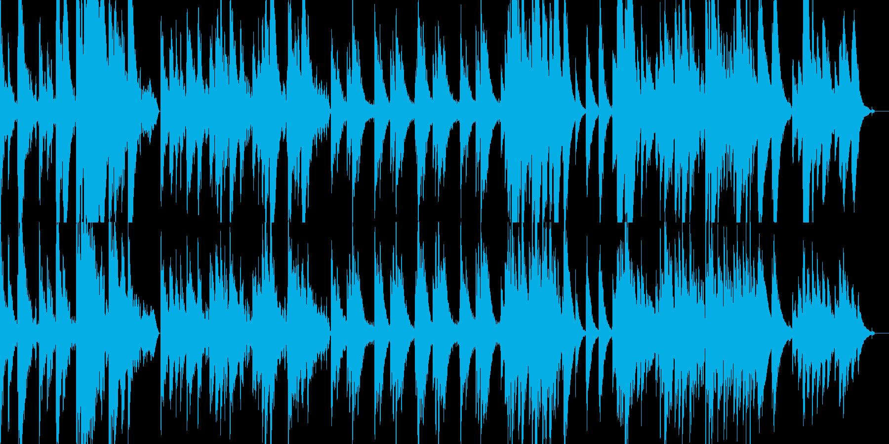 柔らかく、静謐なアコースティックギターの再生済みの波形