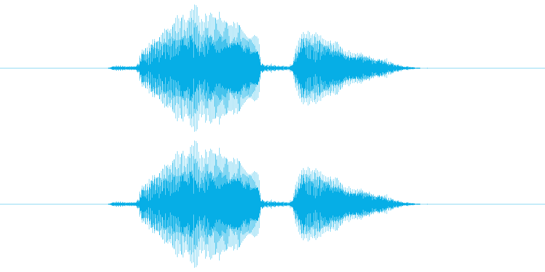 ロードの再生済みの波形