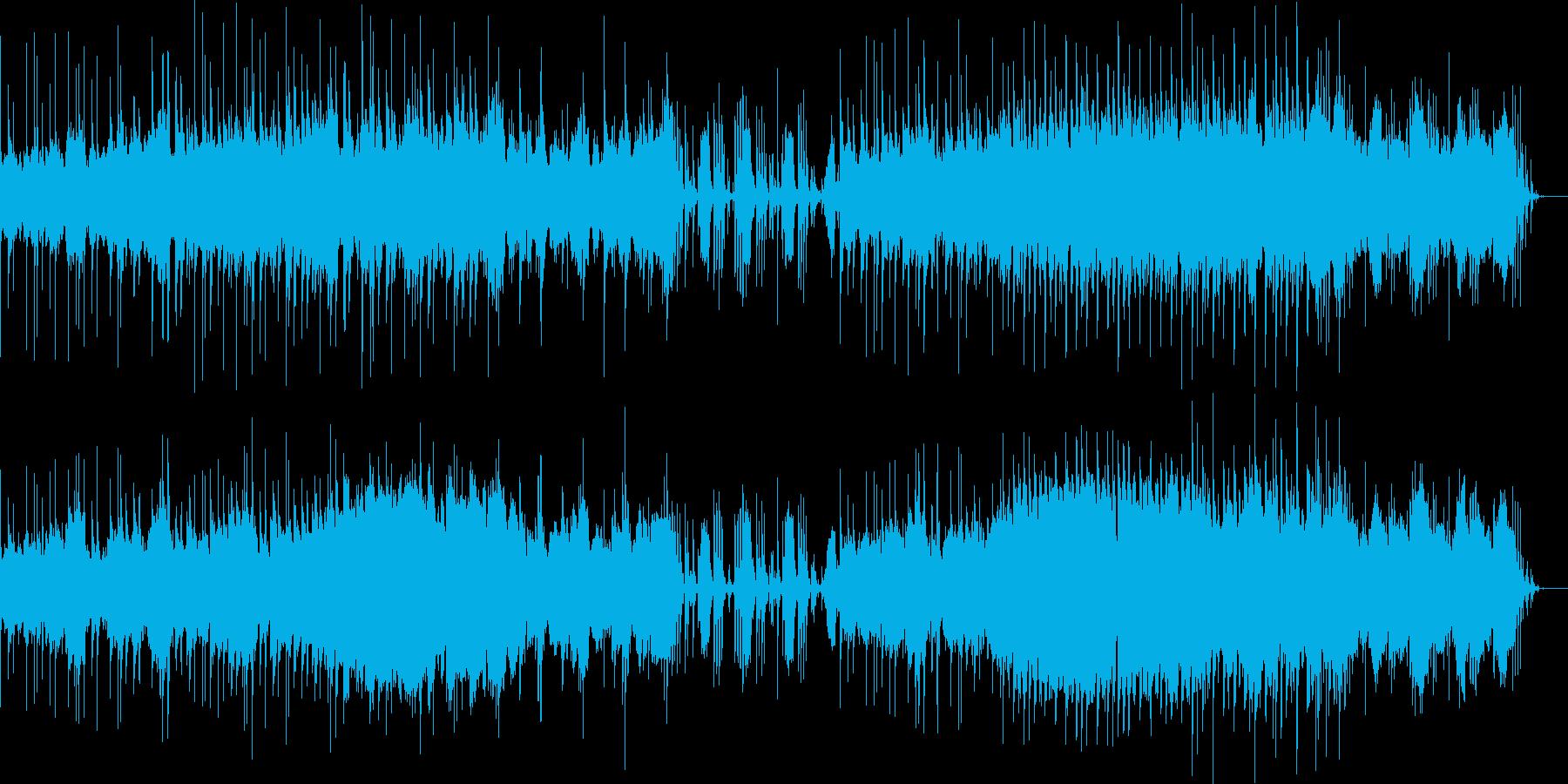 琴、和太鼓、尺八を活かした和風な映像向きの再生済みの波形