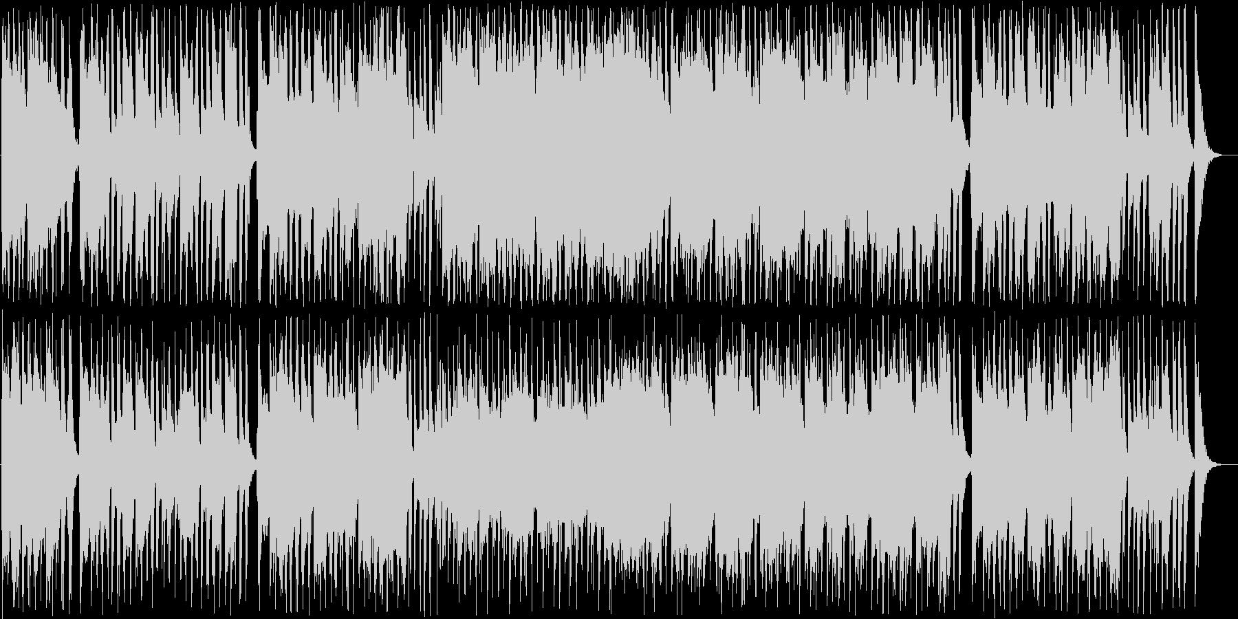 ノスタルジックなギター・シンセ系ポップの未再生の波形