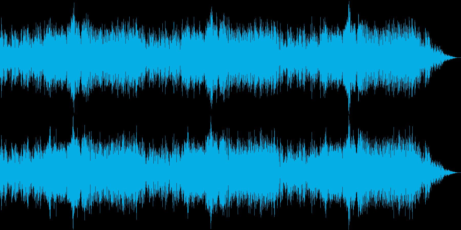 明るくて楽しいアミューズメント系BGMの再生済みの波形