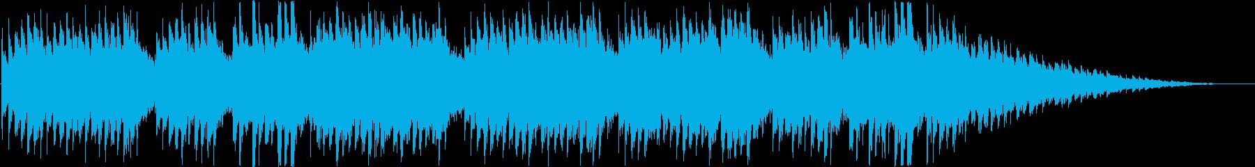 美しく悲しい情景の変拍子BGMの再生済みの波形