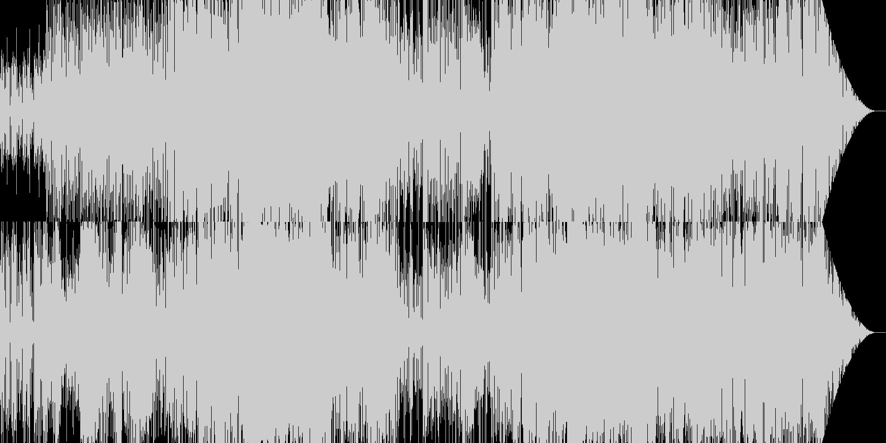 ファンタジーで不思議な絵本的ワルツの未再生の波形