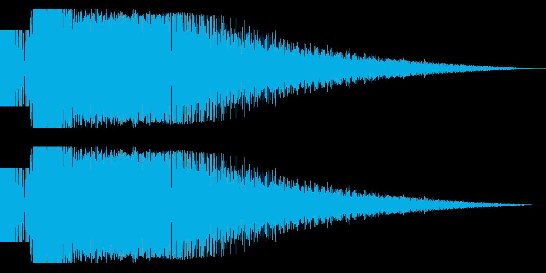 ビームライフル発射音 タイプ4(ロング)の再生済みの波形