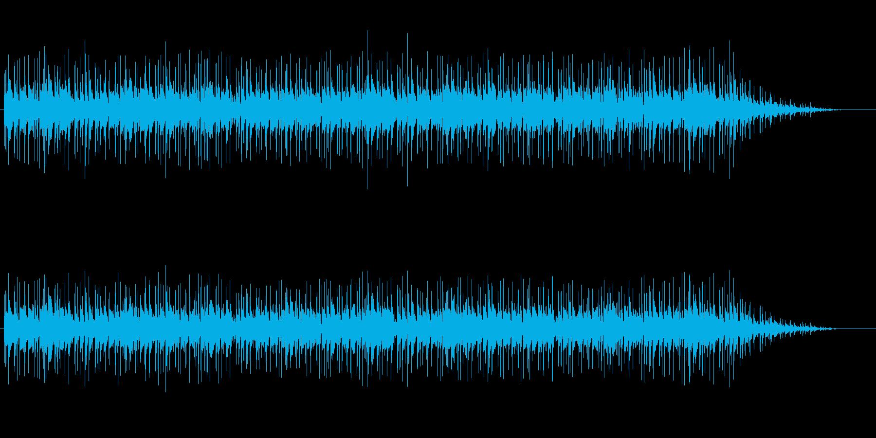 インフォメーション風イージーリスニングの再生済みの波形
