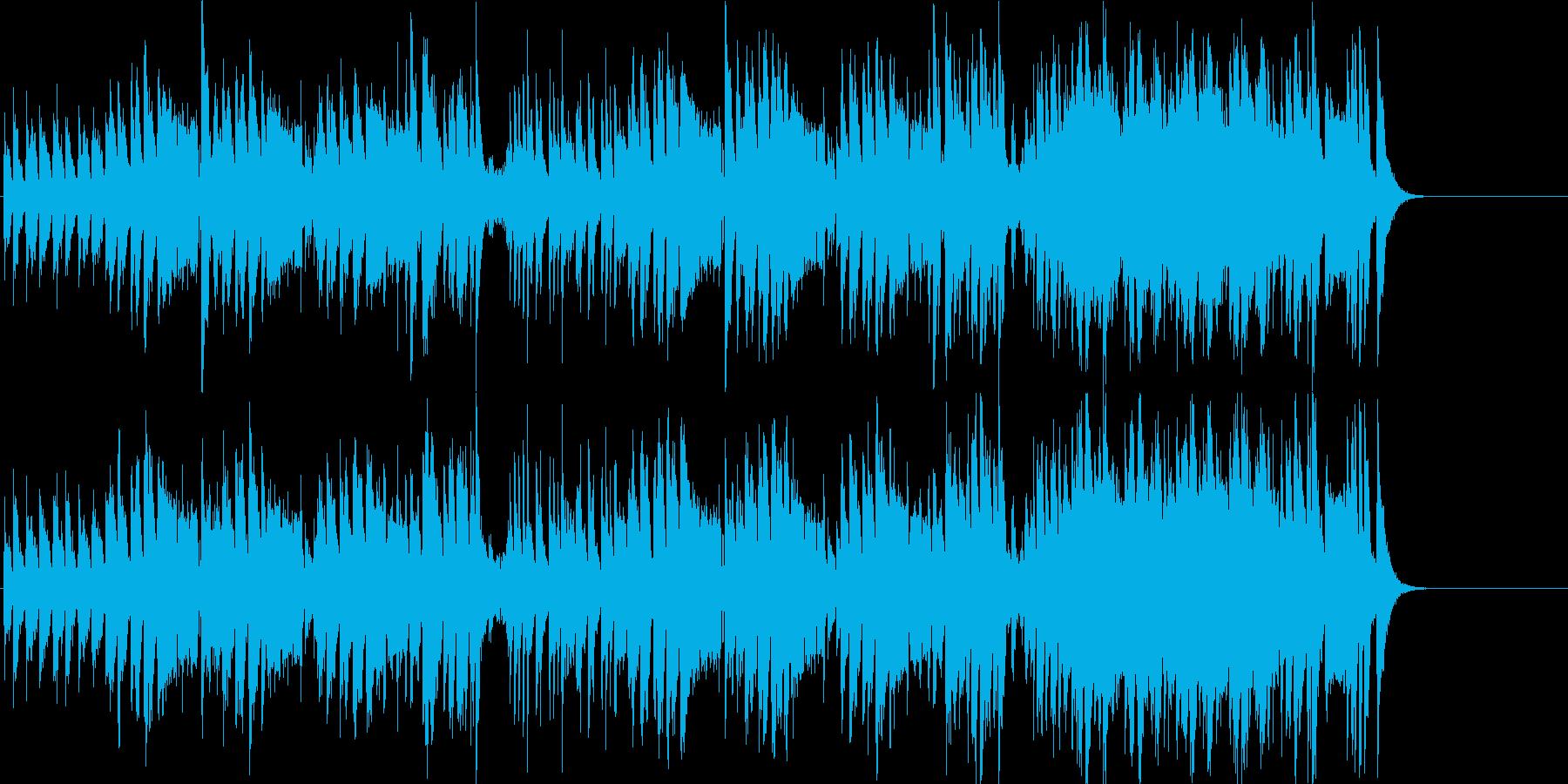 コミカル 楽しい ペット かわいいの再生済みの波形