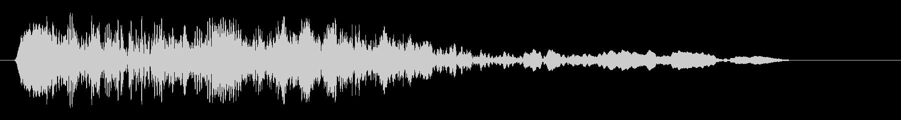 モキュッ (機械的な音声)の未再生の波形