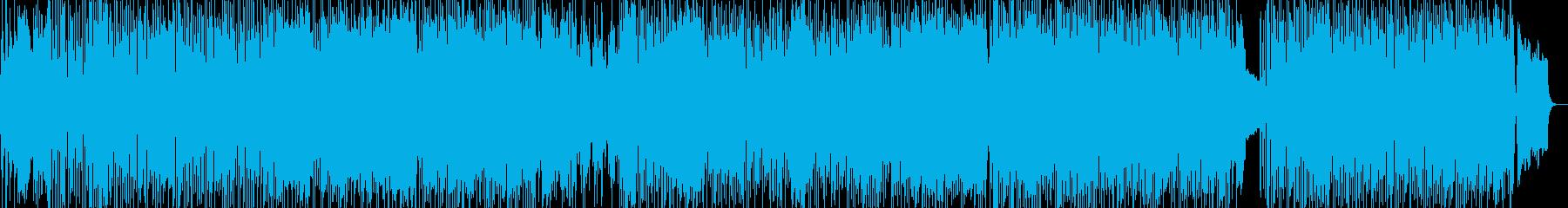 ポジティブ全開のミディアムポップの再生済みの波形