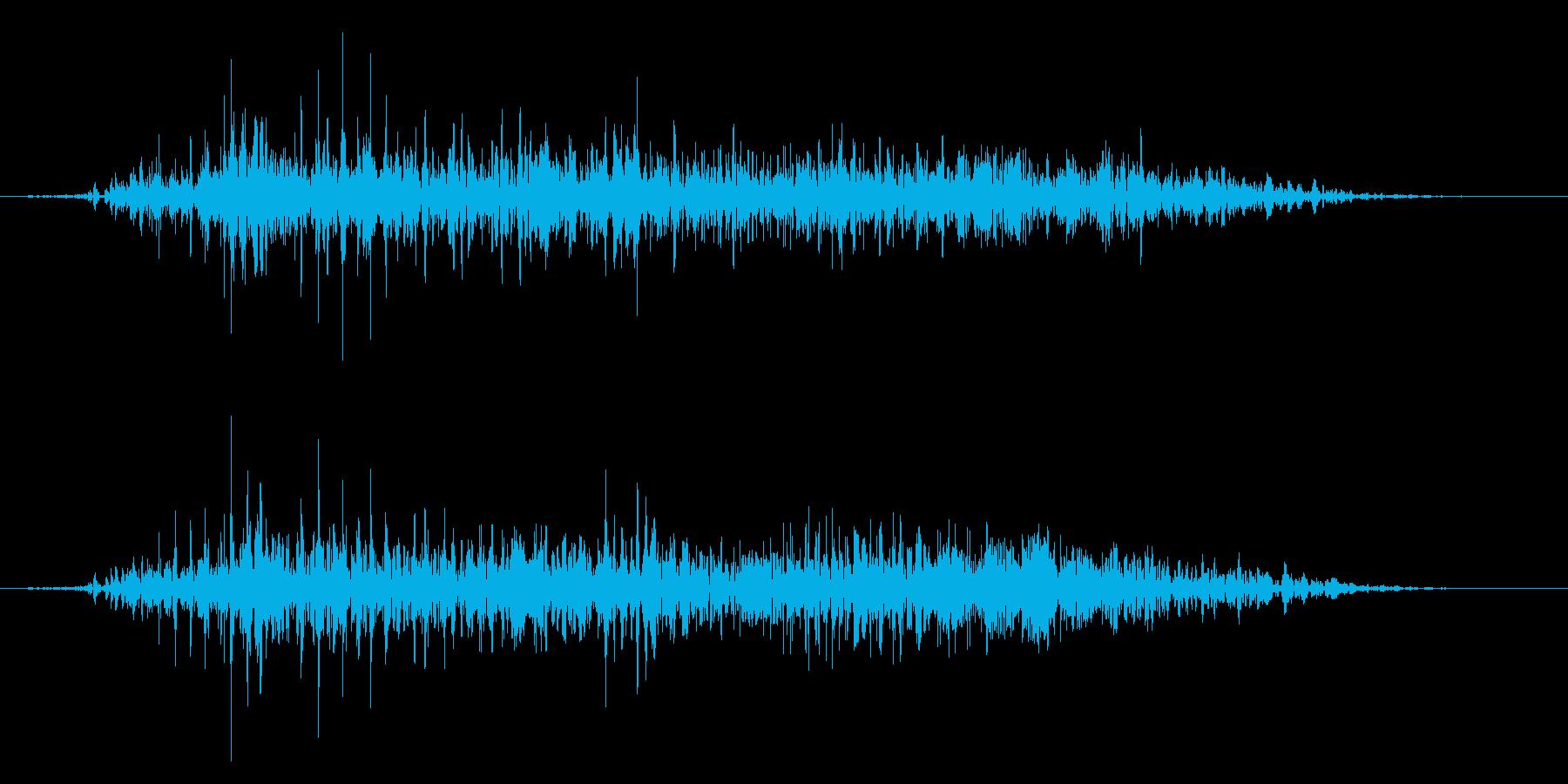 ゾンビやモンスターの叫び声/唸り声!22の再生済みの波形