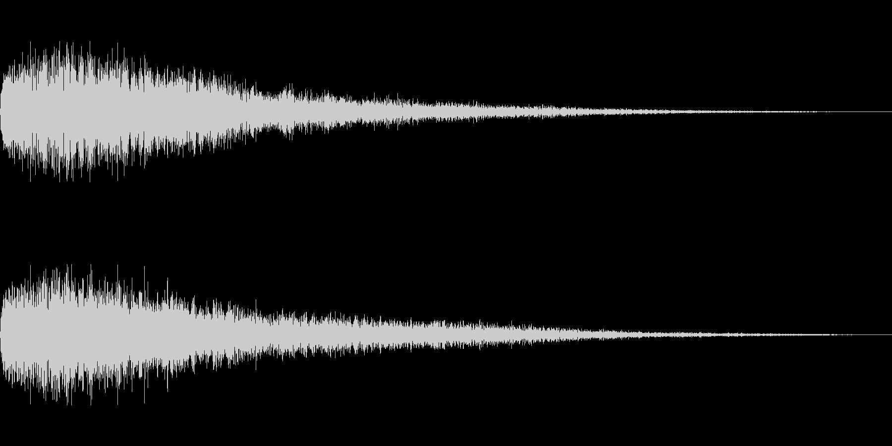 [ピュワーン]回復魔法・バフ(キラキラ)の未再生の波形