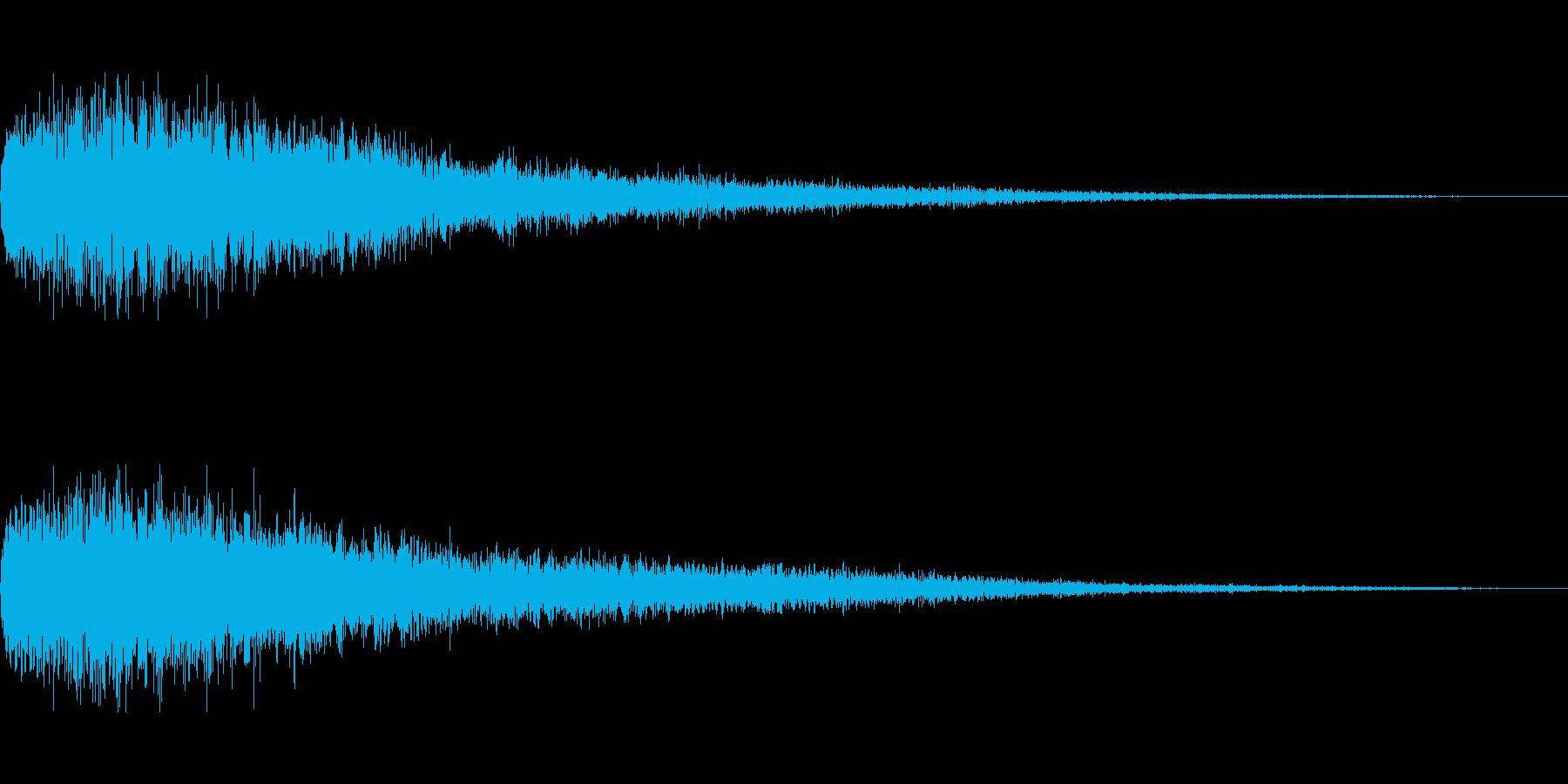 [ピュワーン]回復魔法・バフ(キラキラ)の再生済みの波形
