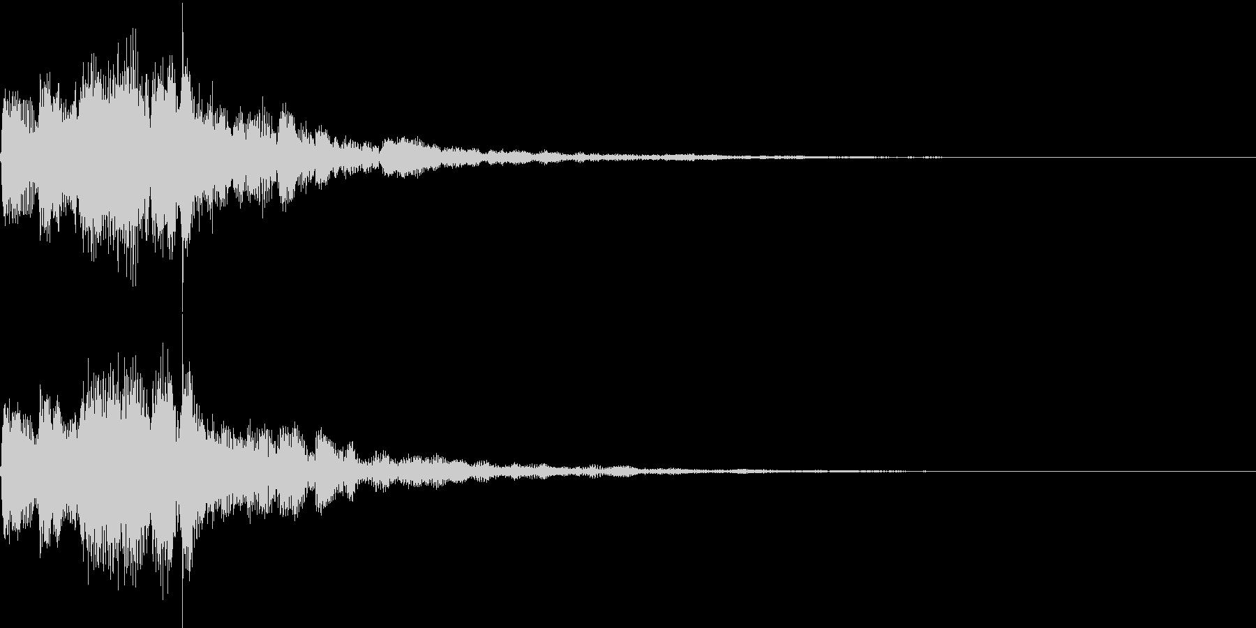 シャラララン(決定、レベルアップ、喜び)の未再生の波形