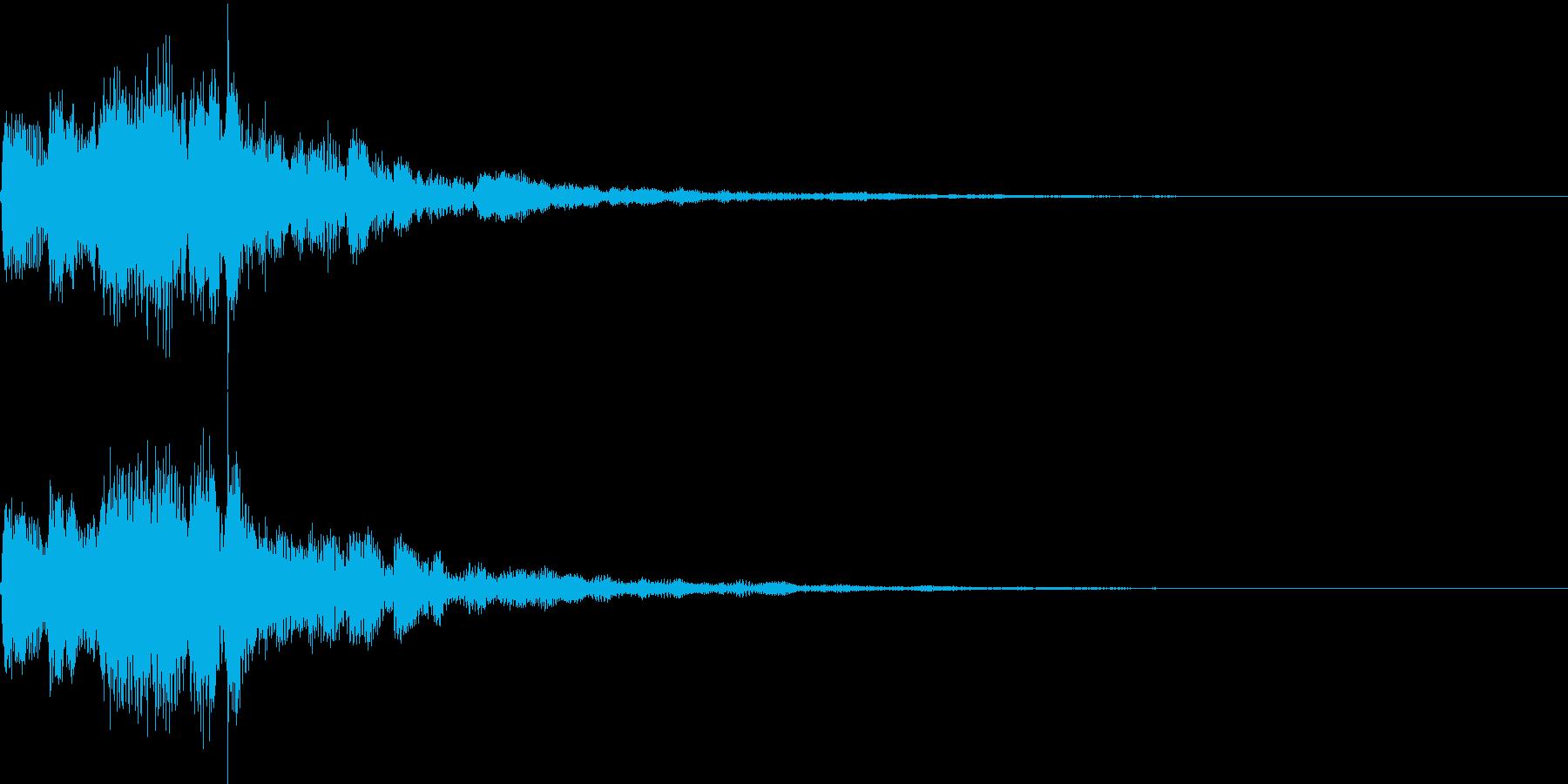 シャラララン(決定、レベルアップ、喜び)の再生済みの波形