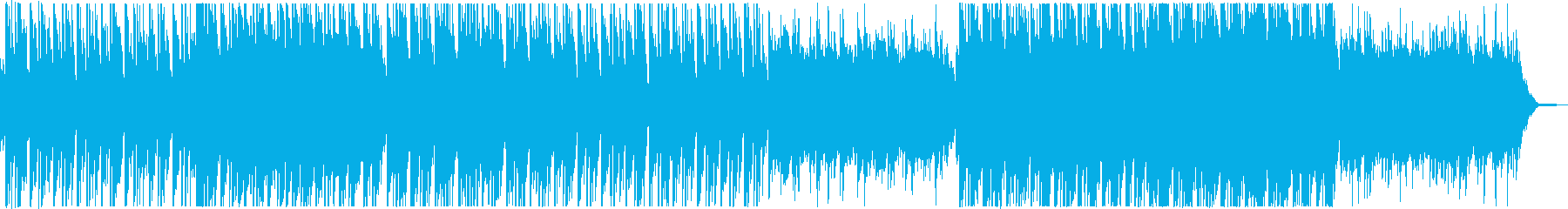 まったりとした和風、日本風のBGMの再生済みの波形