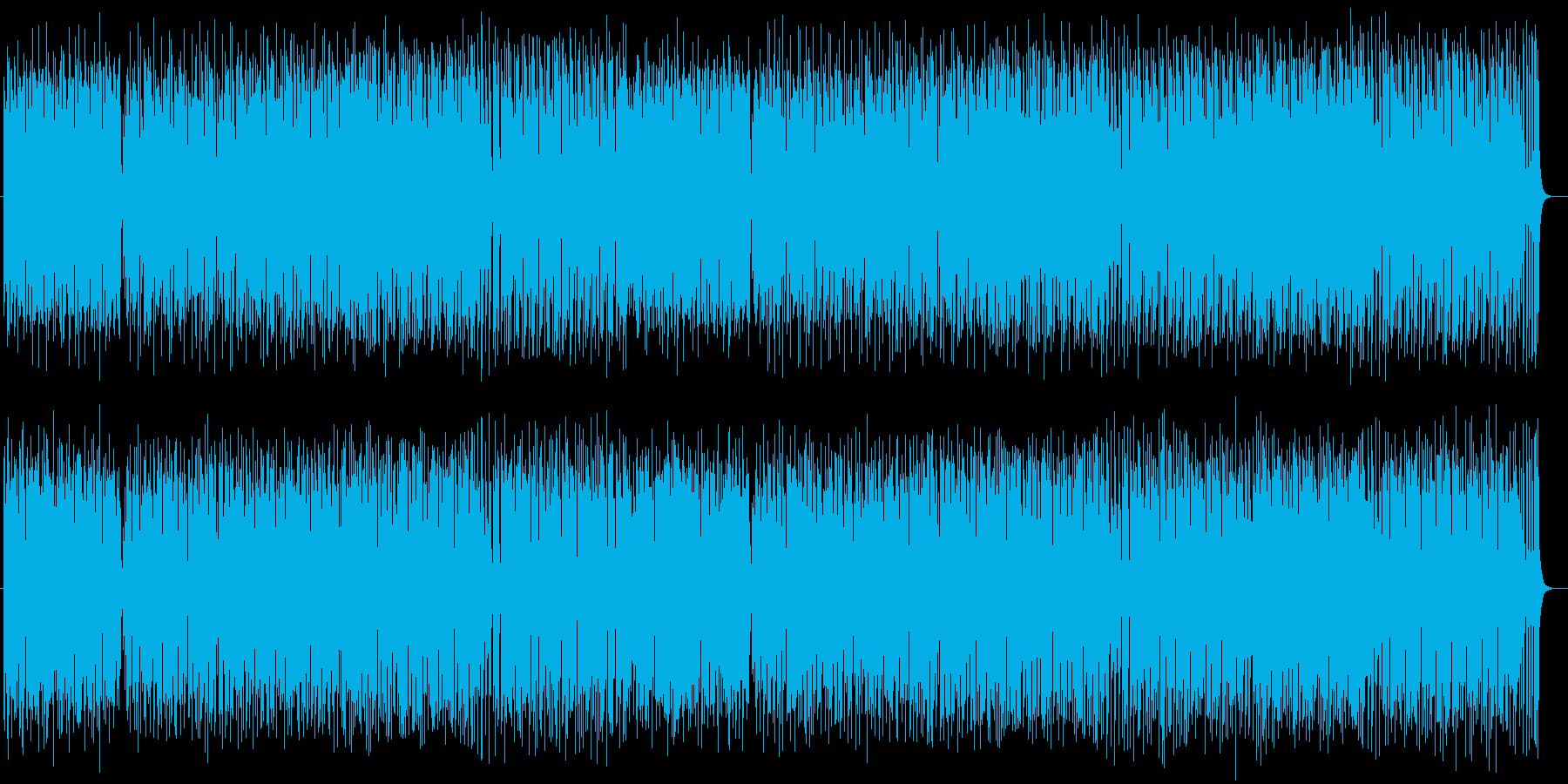 ほのぼの系シンセサイザー打楽器ポップの再生済みの波形