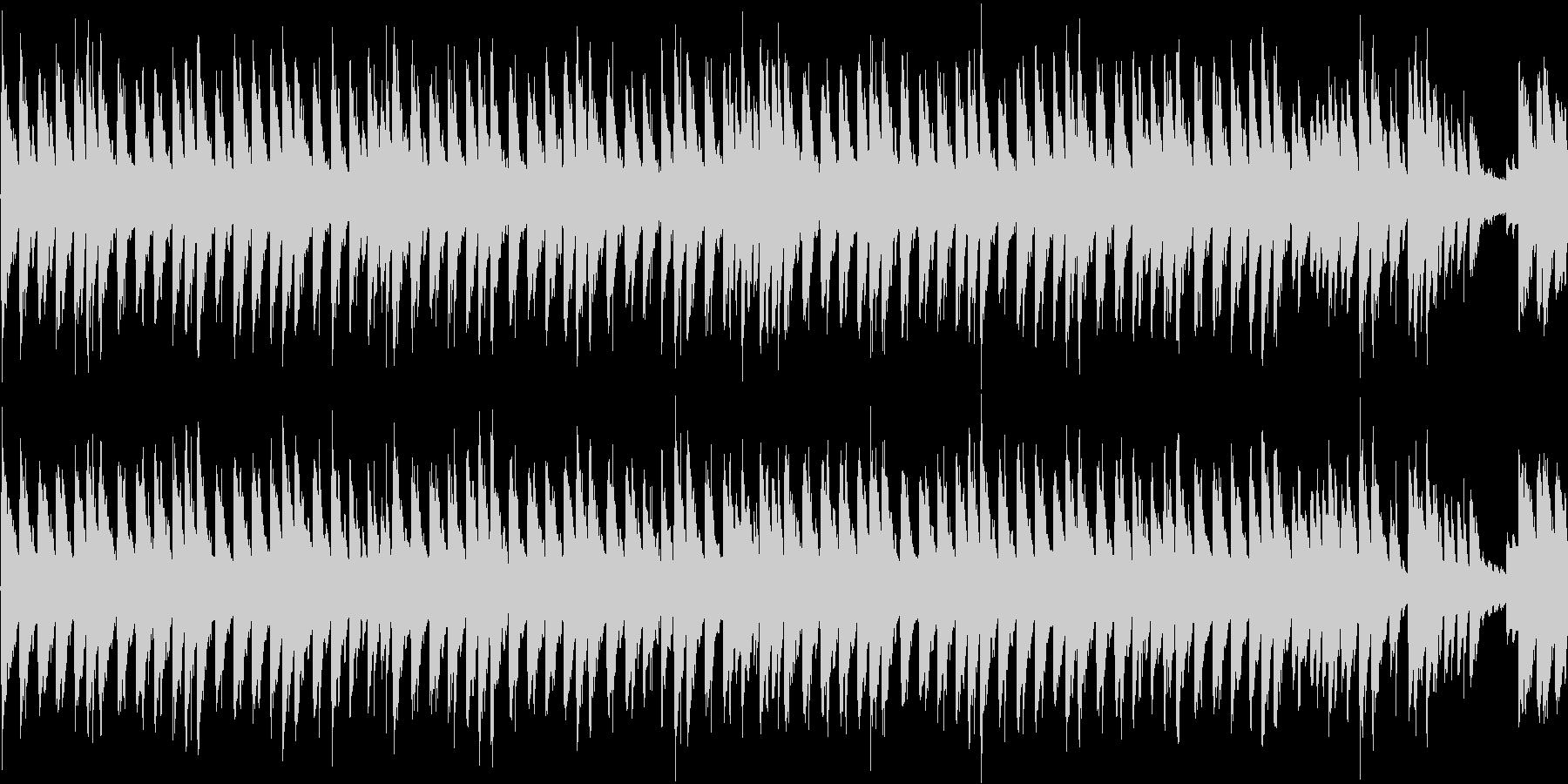 ループ素材。の未再生の波形