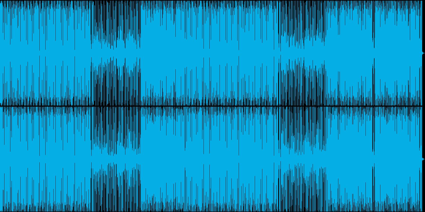 おしゃれなディープハウスの再生済みの波形