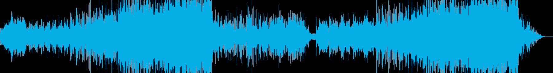 インド風音楽ー珊瑚礁の再生済みの波形