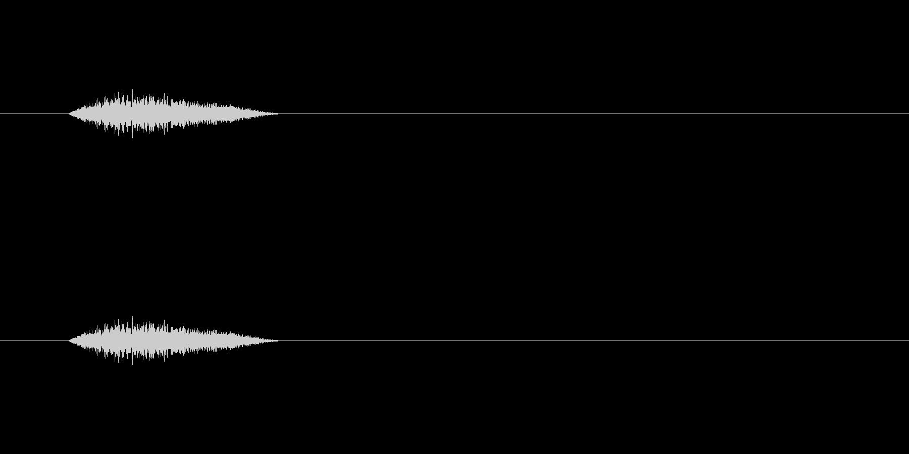 【ショートブリッジ29-3】の未再生の波形