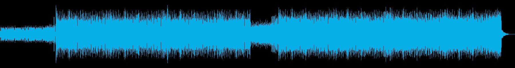 CMや映像に ポップなギターロックの再生済みの波形