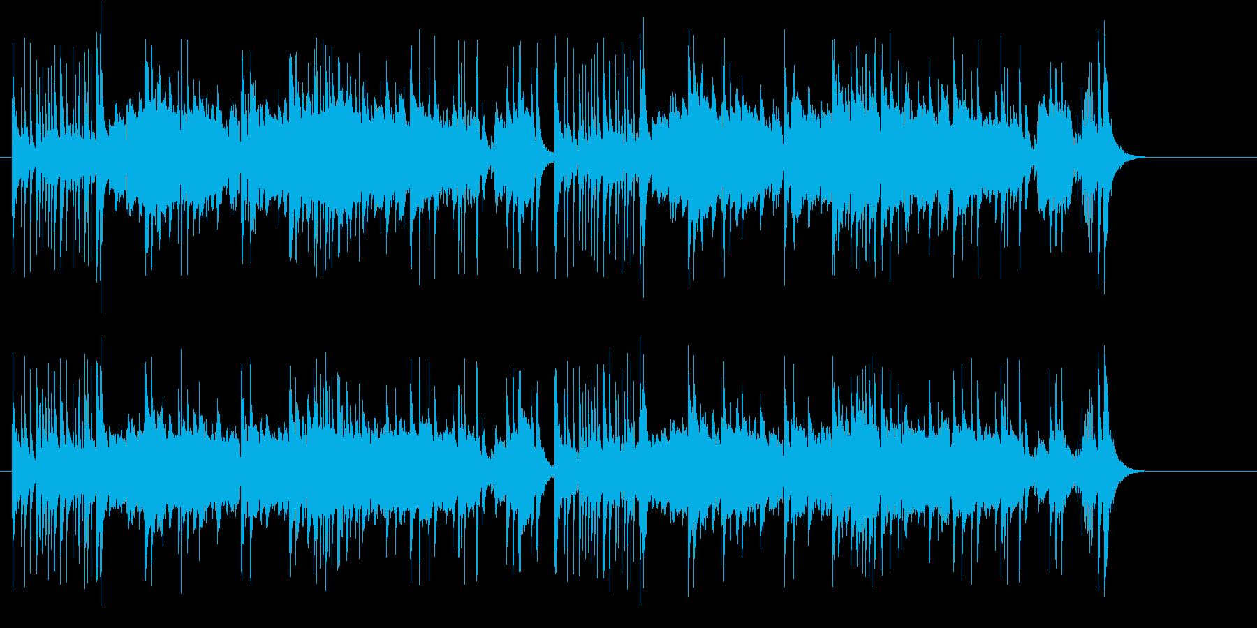 ネオ・チャイナ・ミュージック風の再生済みの波形