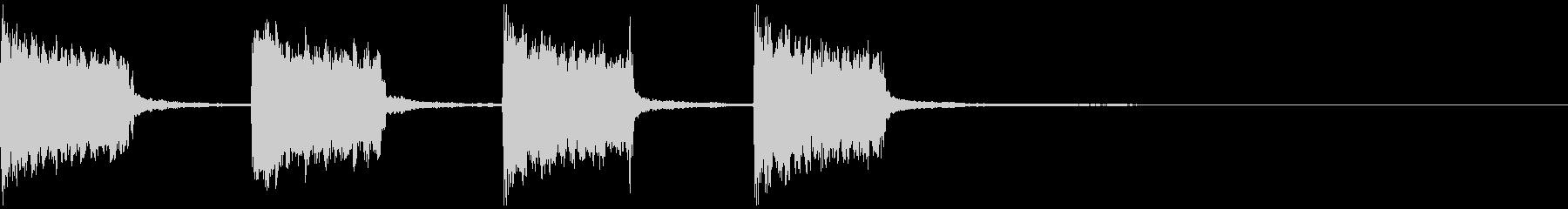 警報音01の未再生の波形