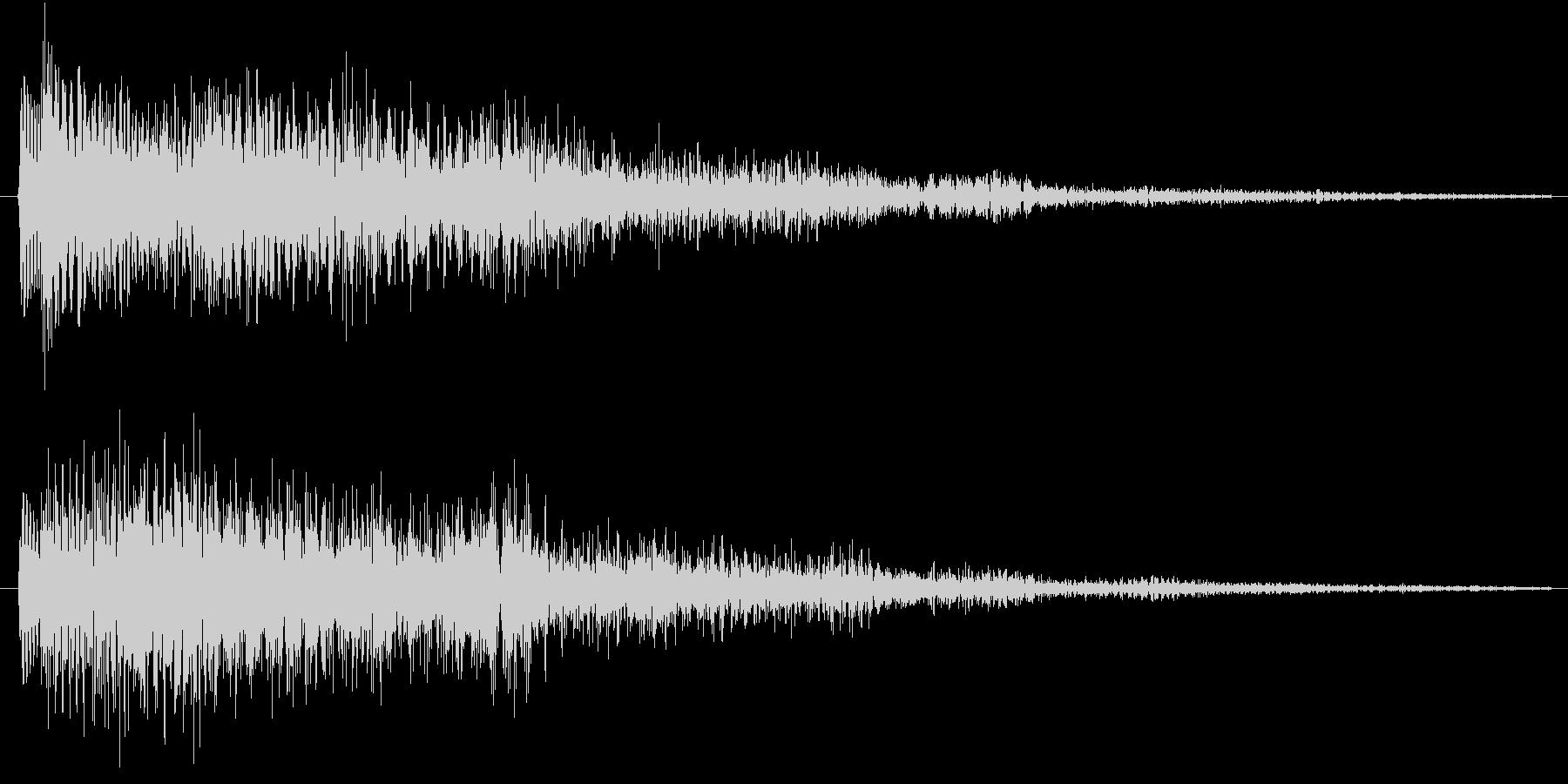 テロローン(サウンドロゴ、決定)の未再生の波形