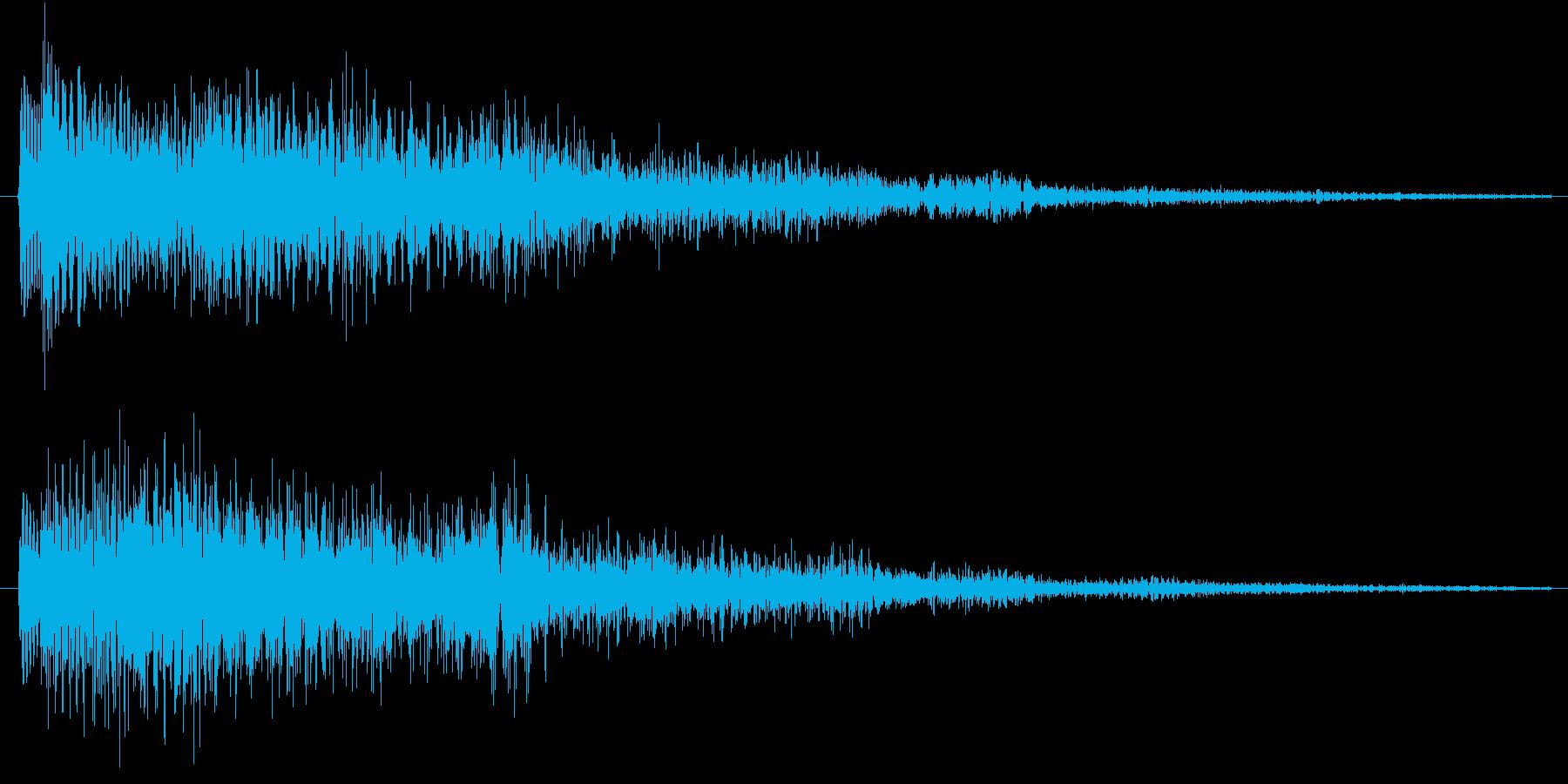 テロローン(サウンドロゴ、決定)の再生済みの波形