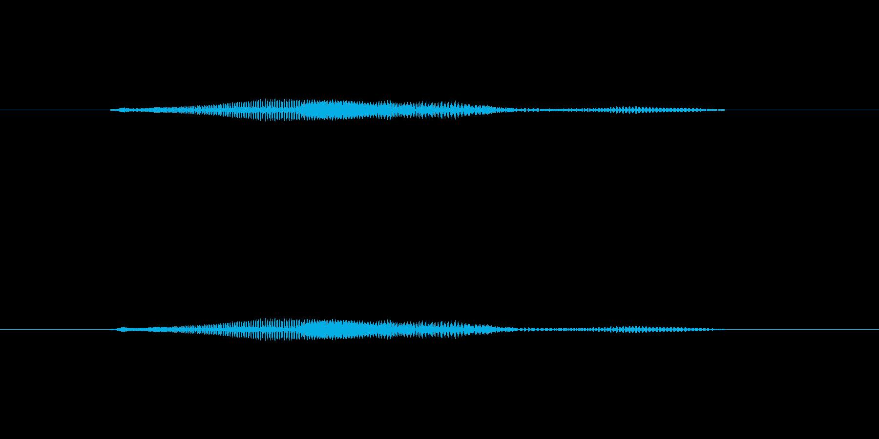 ニャー_猫声-04の再生済みの波形