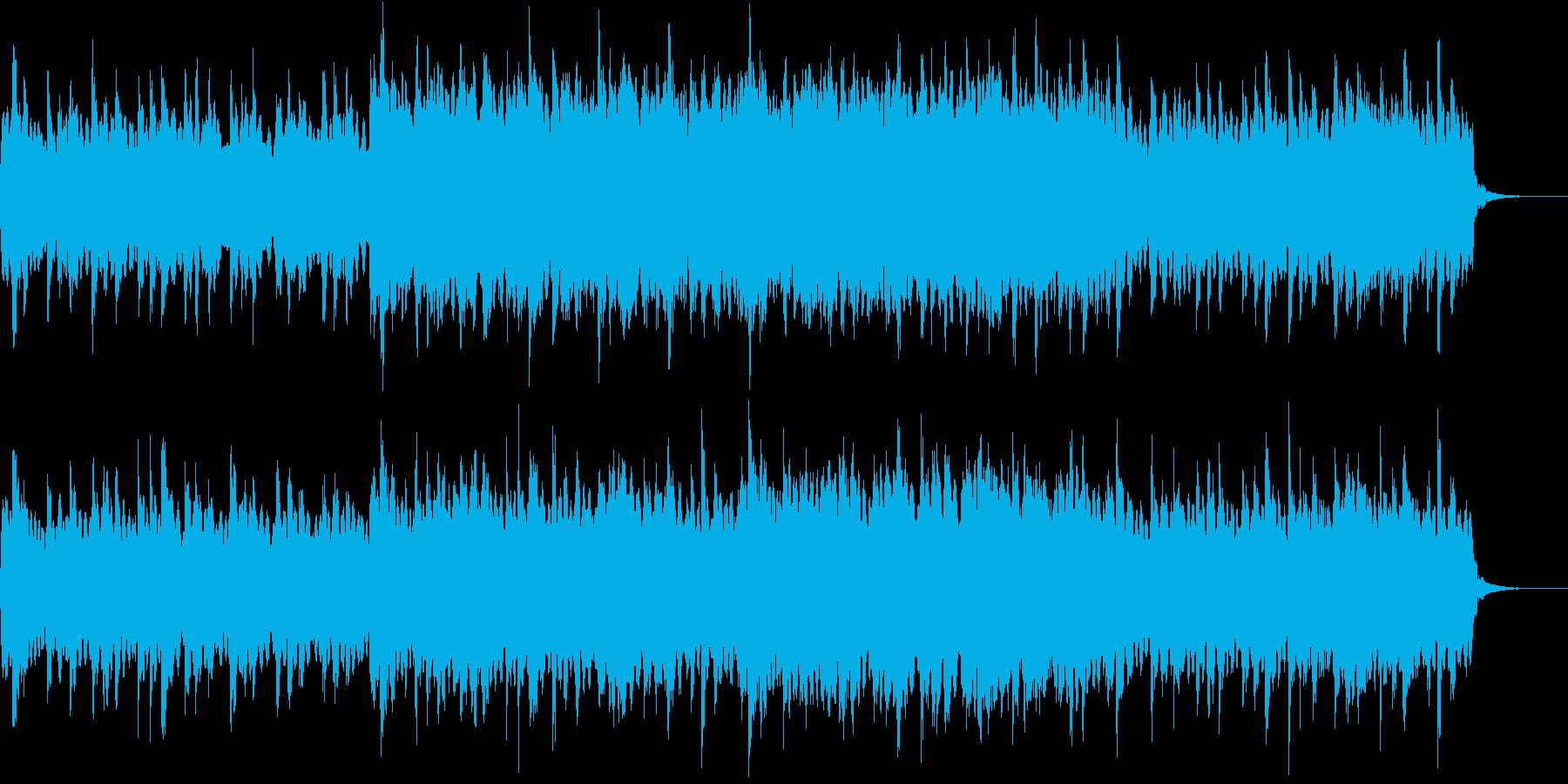 マヌケな電波ソングの再生済みの波形