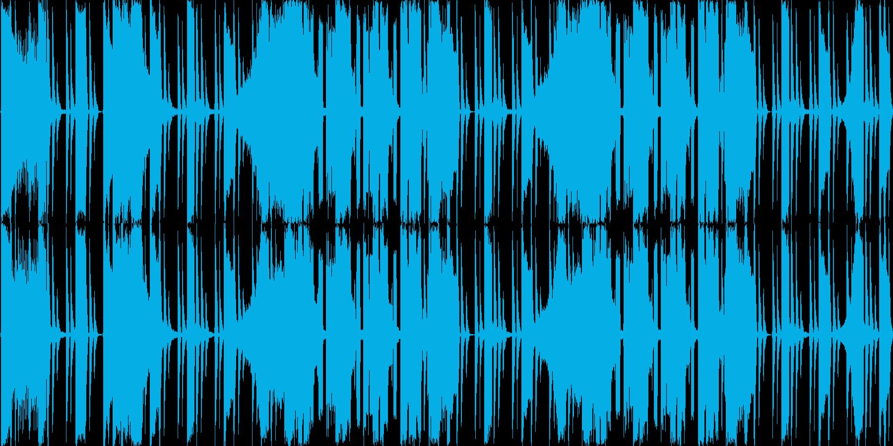 【ダンス/アップテンポEDM】の再生済みの波形