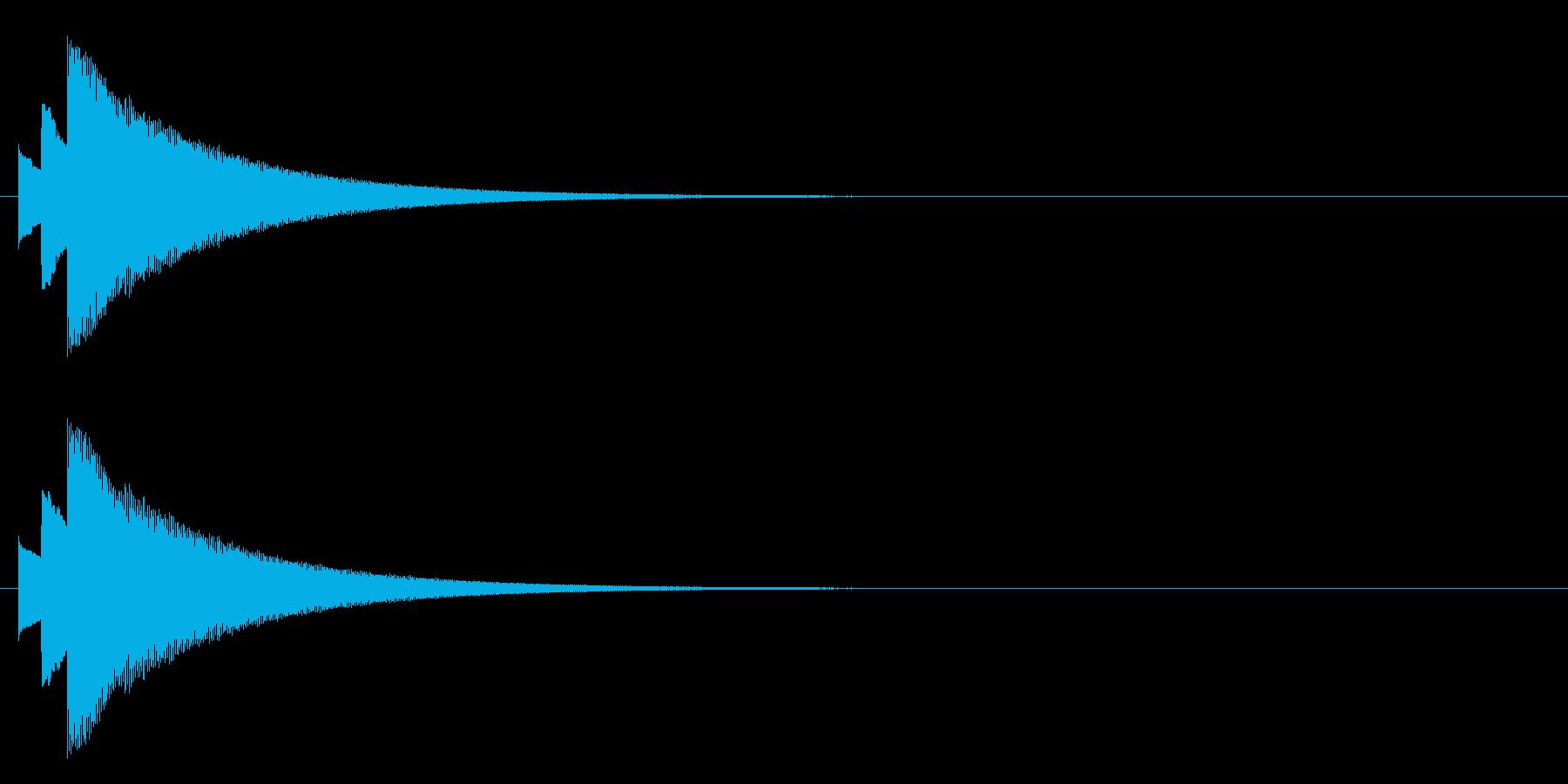 ティロリーンの再生済みの波形