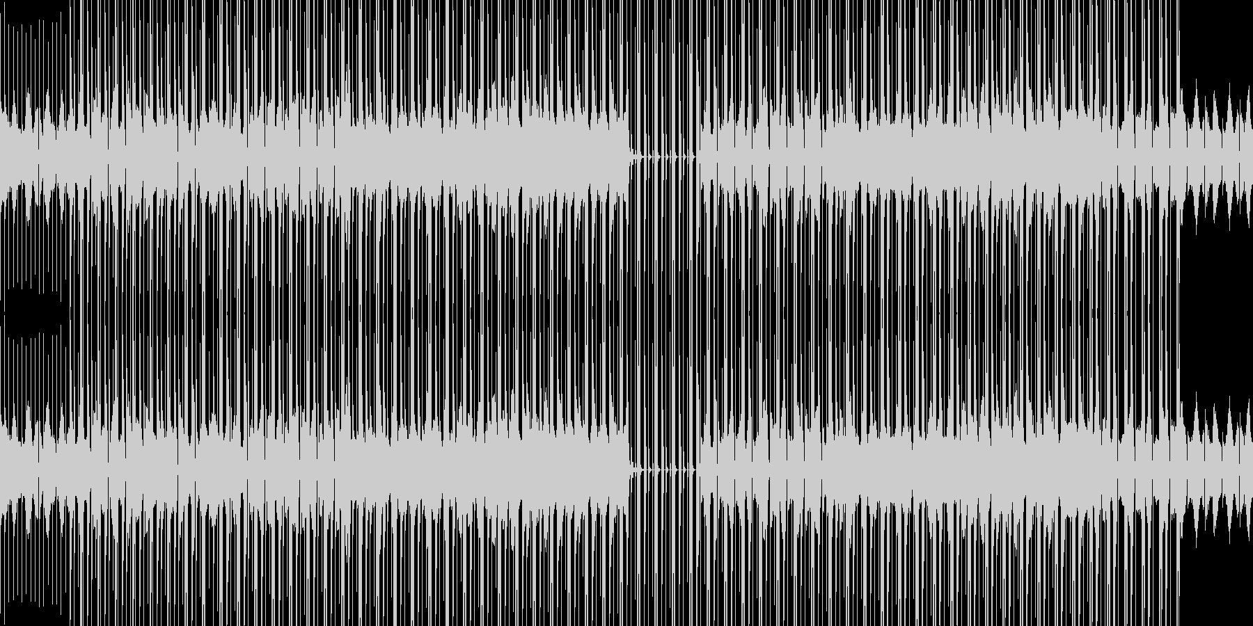 ボス戦orダンジョンBGMの未再生の波形