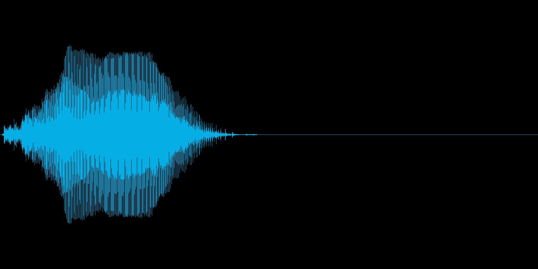 Kの再生済みの波形