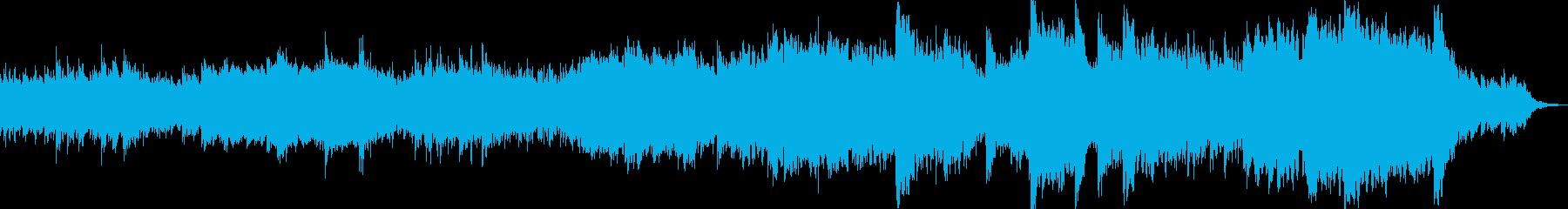 BGM 始まりの予感・薄明りの場面の再生済みの波形
