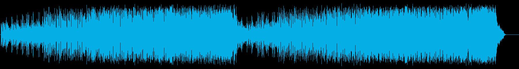 心を描くフュージョン(フルサイズ)の再生済みの波形