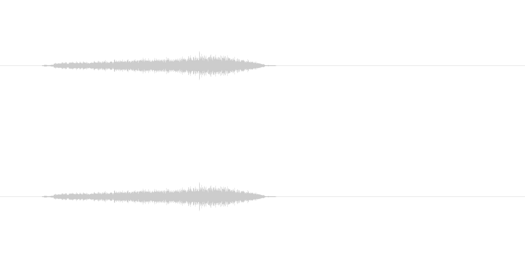 【シャープペン01-04(直線)】の未再生の波形
