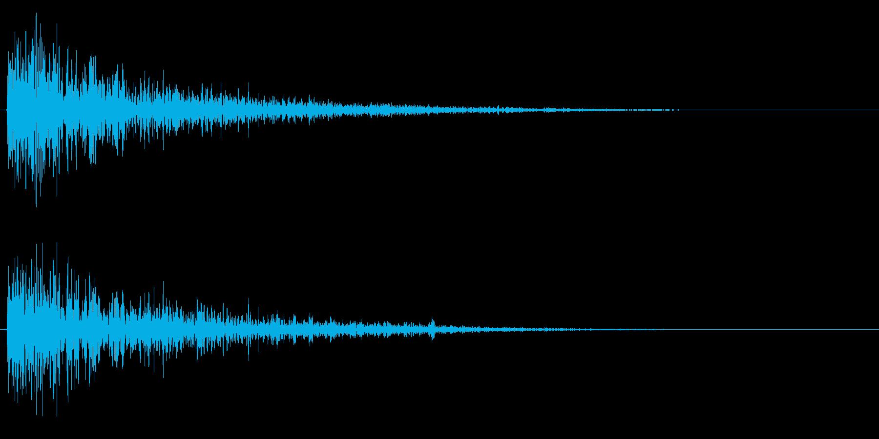 砲弾系ドカーンの再生済みの波形
