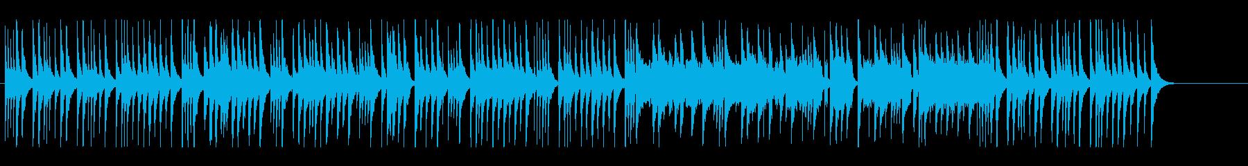 お正月にマッチする琴・尺八の和風BGMの再生済みの波形