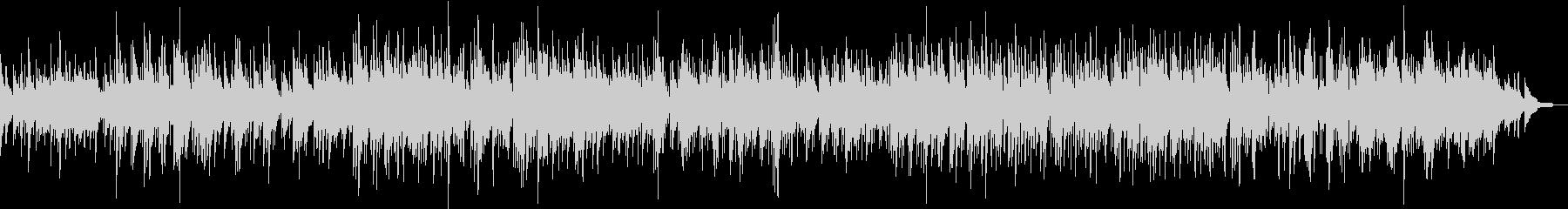 スローなピアノジャズボサノバの未再生の波形