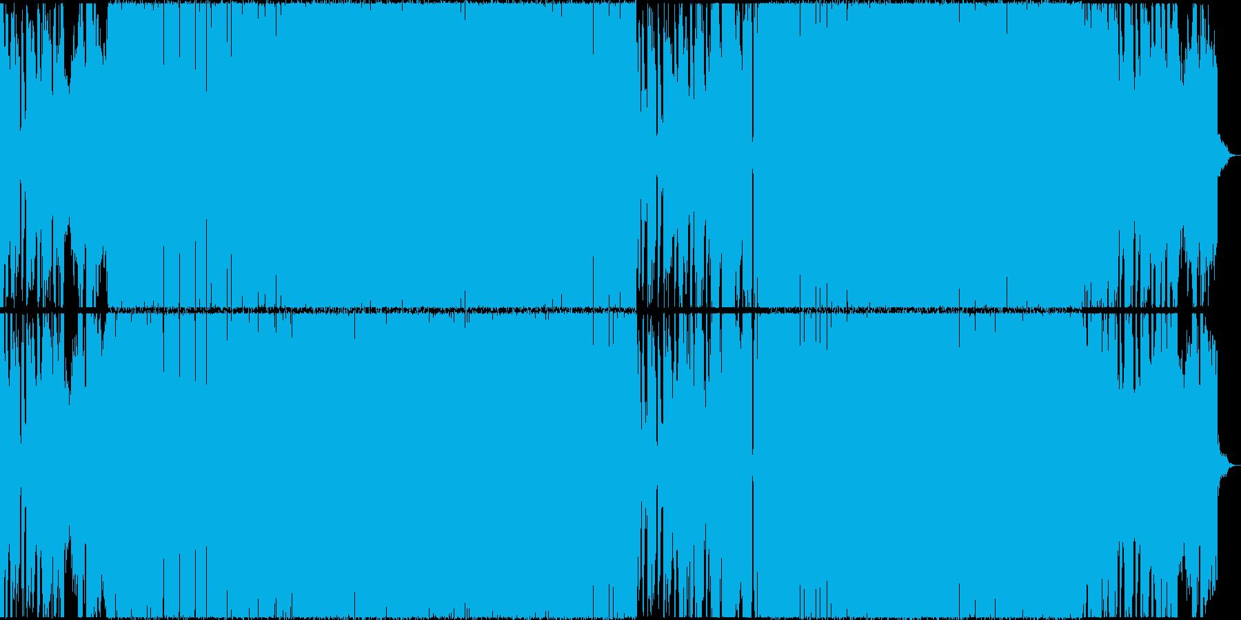 ミステリアスなドラムンベースの再生済みの波形
