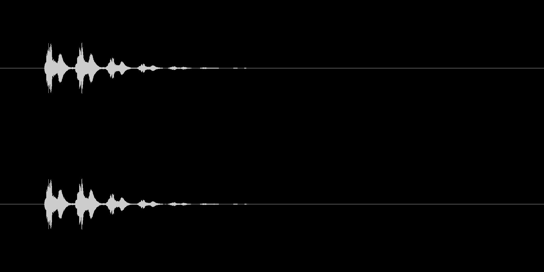 【びっくり06-1】の未再生の波形