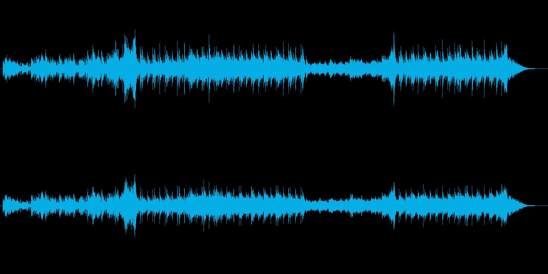 荘厳な雰囲気のクラシカルな曲ですの再生済みの波形