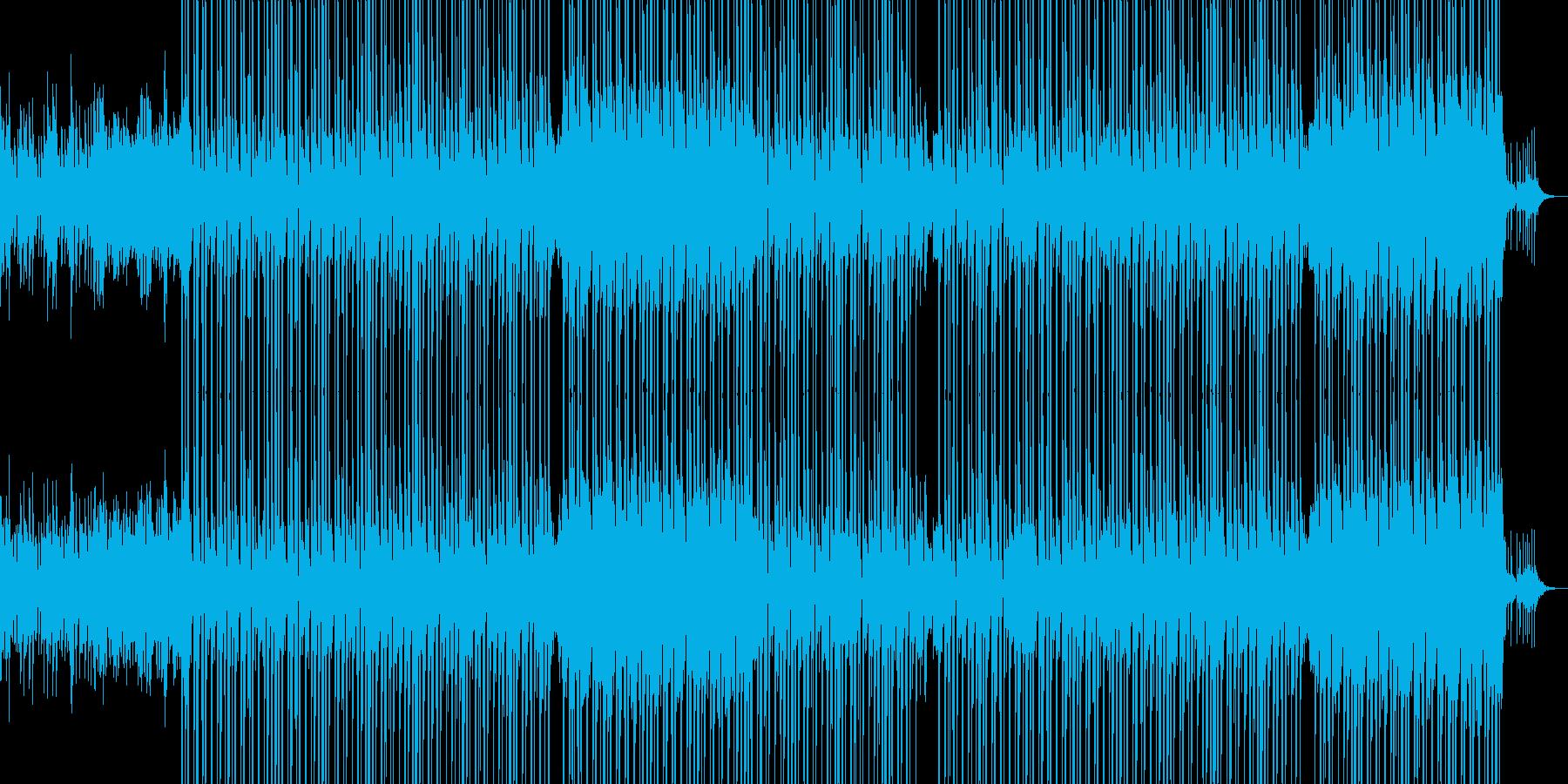 ノスタルジックなHIPHOPビートの再生済みの波形