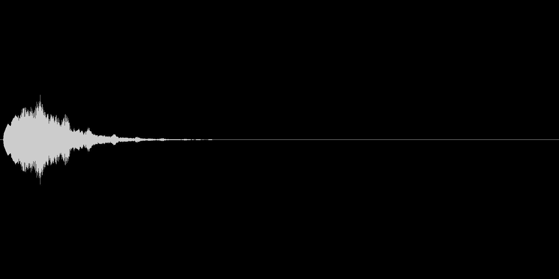 キラキラ↑(回復、解禁などに使えるSE)の未再生の波形