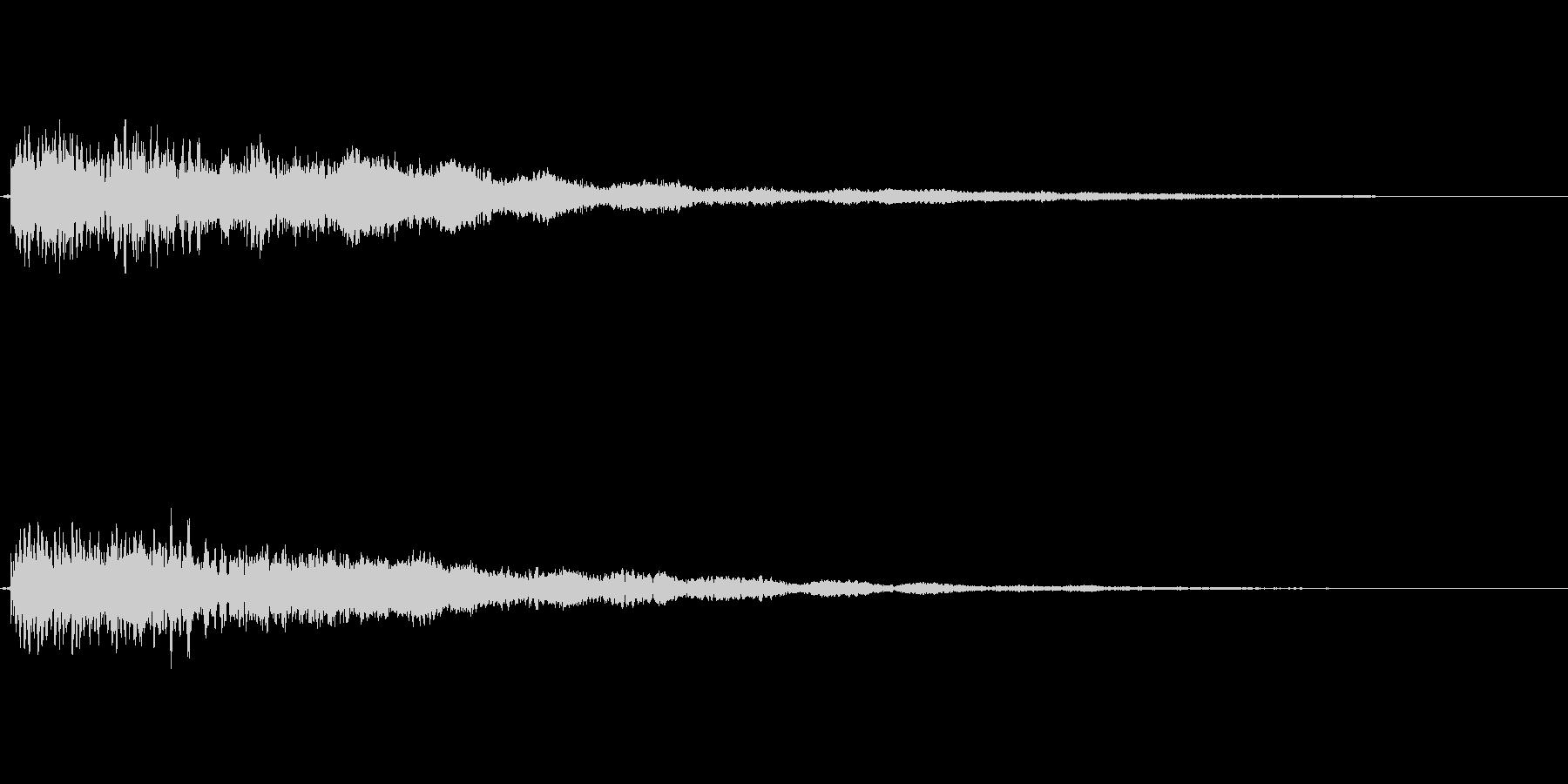 【ロゴ、ジングル】シンセ03の未再生の波形