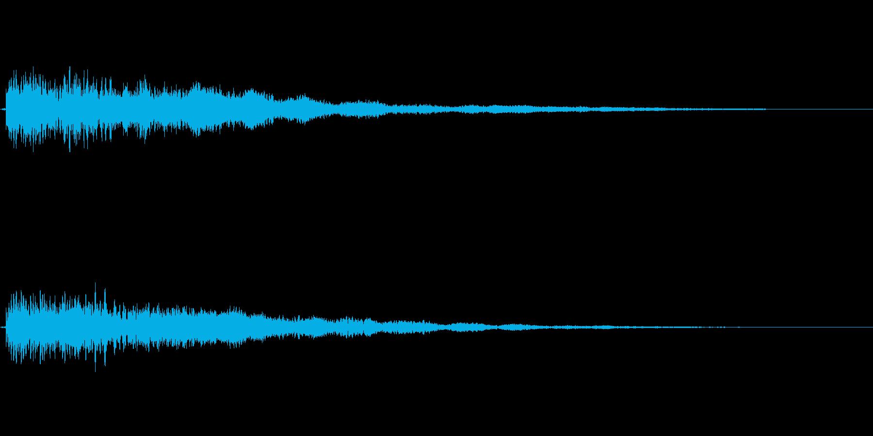 【ロゴ、ジングル】シンセ03の再生済みの波形