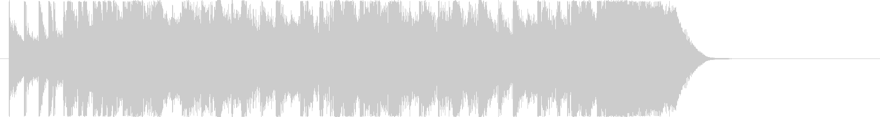 メローでマイナーなロックジングルの未再生の波形