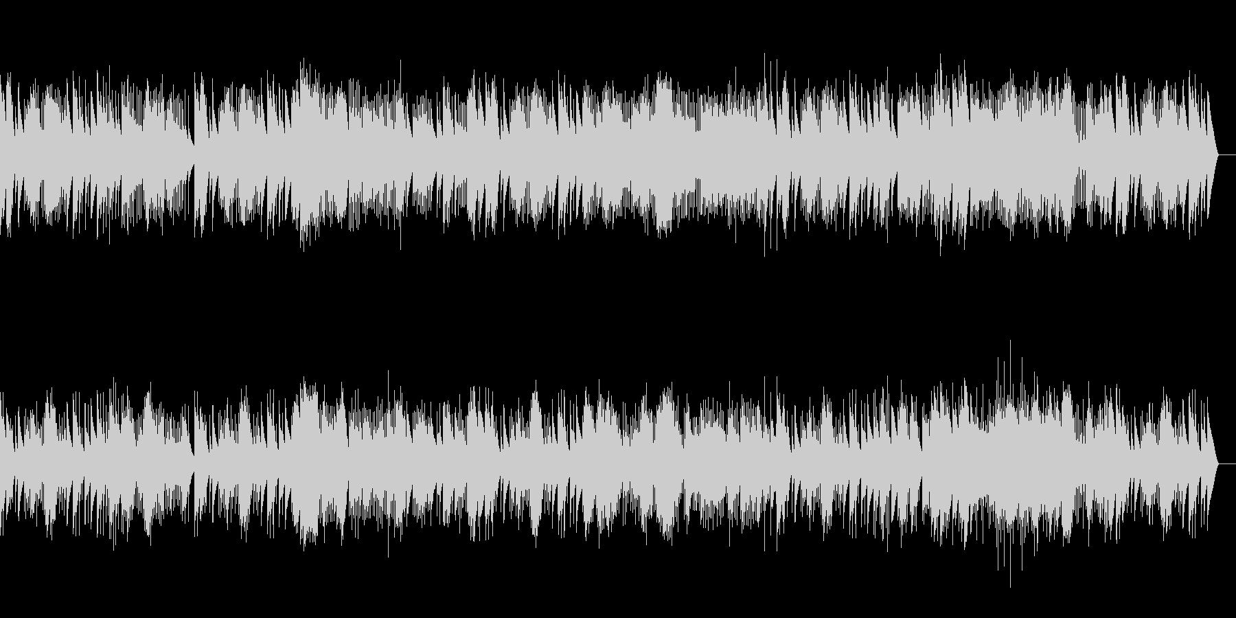 バッハ ガボットとロンド (オルゴール)の未再生の波形