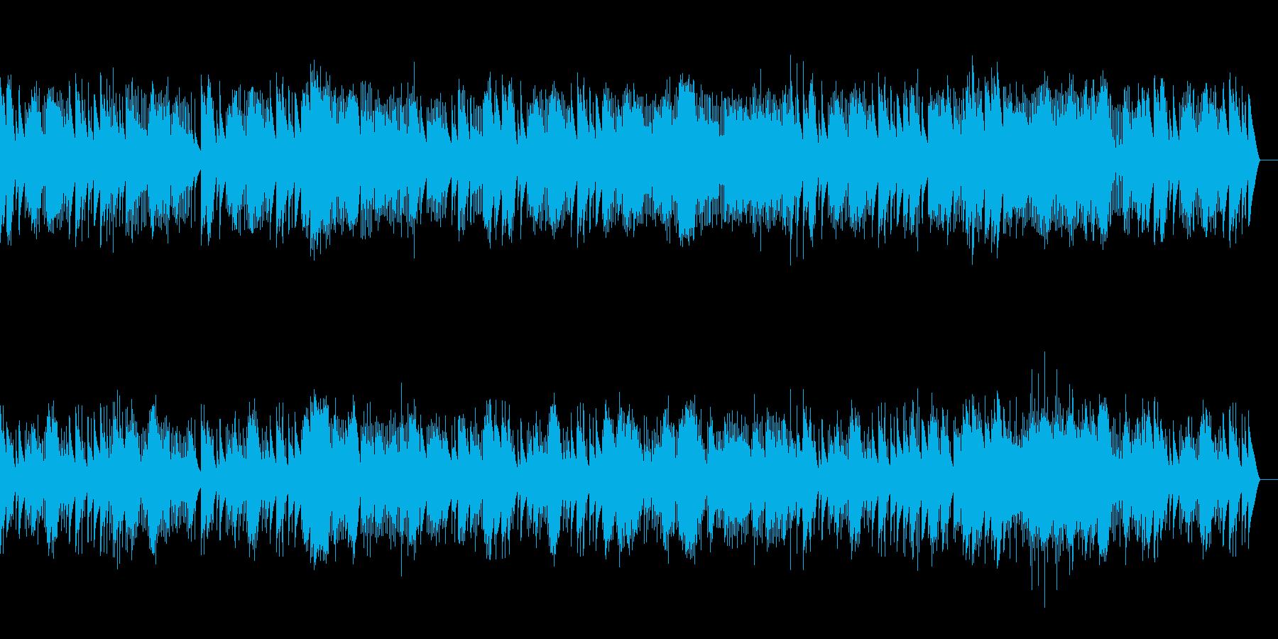 バッハ ガボットとロンド (オルゴール)の再生済みの波形